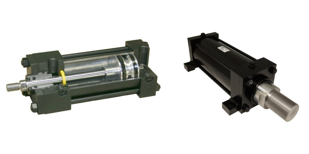 Eight New Piston Rod Sizes Added to Heavy Duty Pneumatic Stainless Steel Cylinders